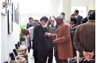 咖啡博览会参展商、咖啡比赛评委等来访诚品食品工厂